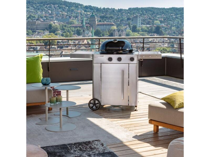 Arosa 570G Premium Steel gasbarbecue 57cm