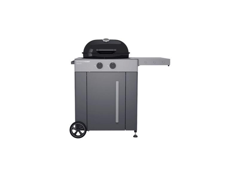 Arosa 570G Steel barbecue au gaz 57cm