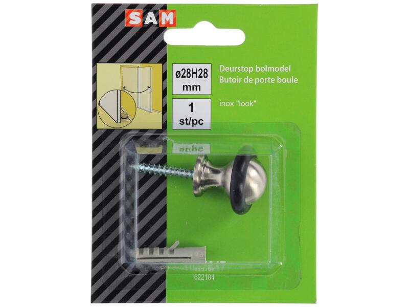 Sam Arrêt de porte 25mm gris naturel