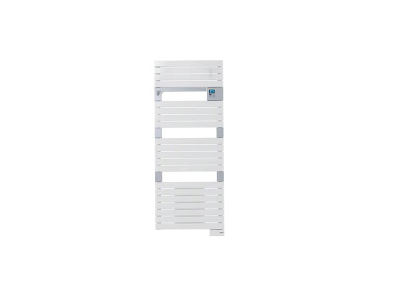 Asamo Ventilo radiateur sèche-serviettes électrique 500W + 1000W blanc
