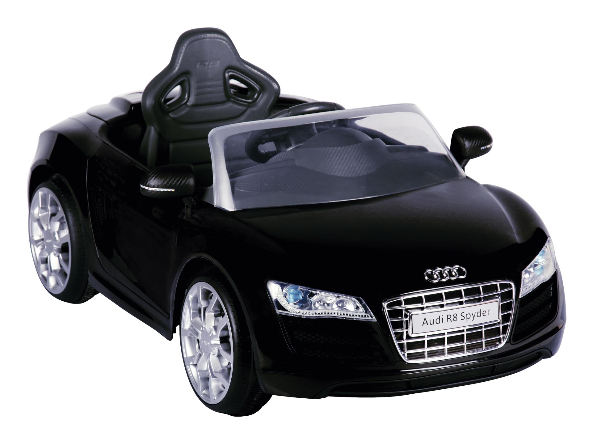 Wonderbaar Audi R8 elektrische kinderauto zwart met afstandsbediening | Hubo NV-47