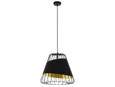 Eglo Austell hanglamp E27 max. 60W 43cm zwart/goud