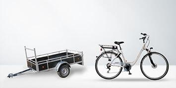 Auto, fiets & step
