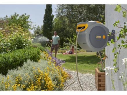 Hozelock Auto Reel muurhaspel met tuinslang 20m