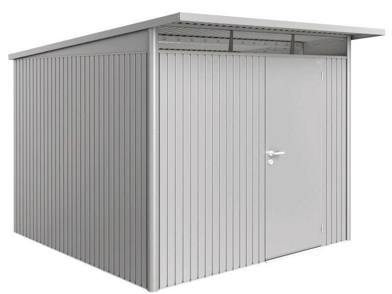 Biohort AvantGarde A7 tuinhuis 260x217x300 cm zilver metaal