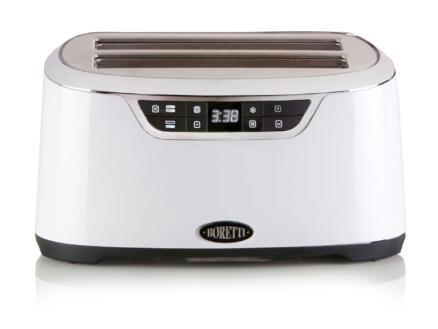 Domo B302 digitale broodrooster 4 sneden wit