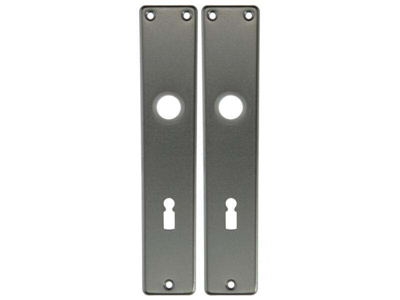 Yale BB72 deurplatenset aluminium