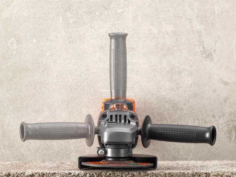 Black+Decker BCG720N-XJ accu haakse slijper 18V Li-Ion 125mm zonder accu