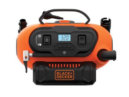 Black+Decker BDCINF18N-QS compressor + accessoires zonder accu