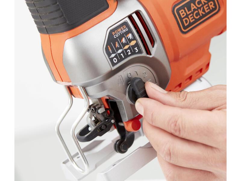 Black+Decker BES610K-QS scie sauteuse pendulaire 650W