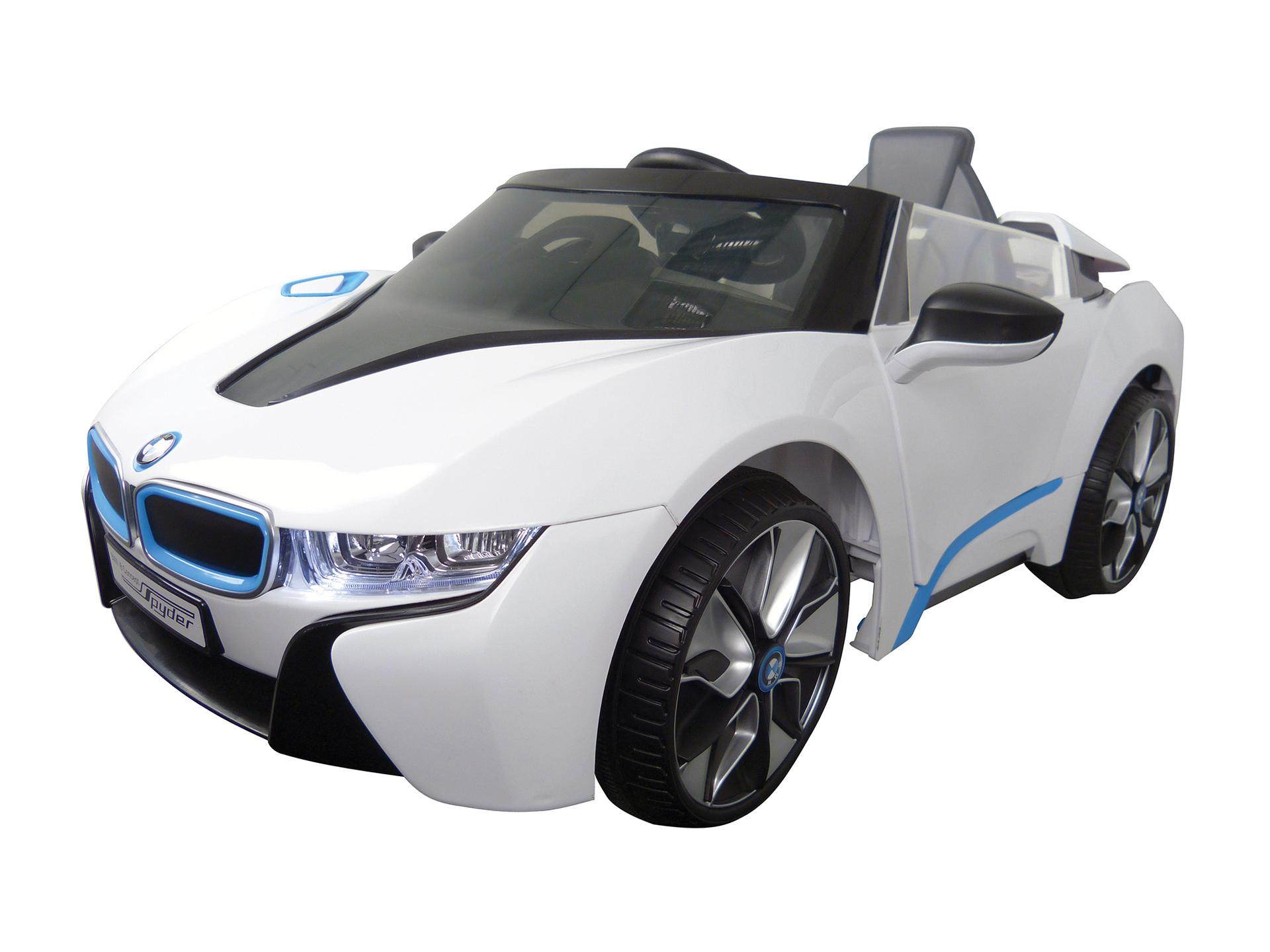 Betere BMW i8 elektrische kinderauto wit met afstandsbediening | Hubo GY-94