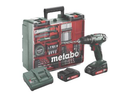 Metabo BS18 accu schroefboormachine 18V + 2 accu's + lader