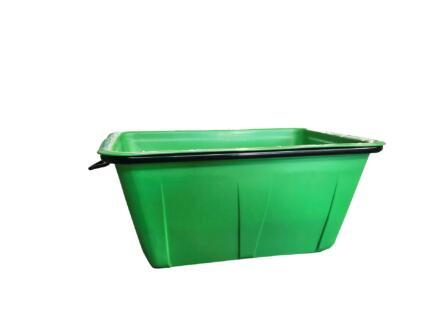 Bac à mortier 200l vert
