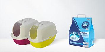 Bacs à chat & litières