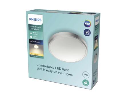 Philips Balance applique pour mur ou plafond LED 17W nickel gris