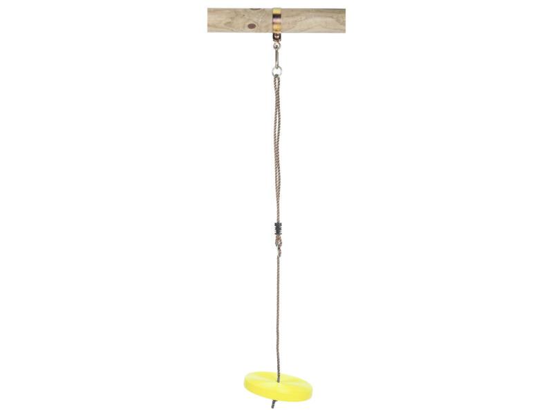 Balançoire disque 35cm jaune