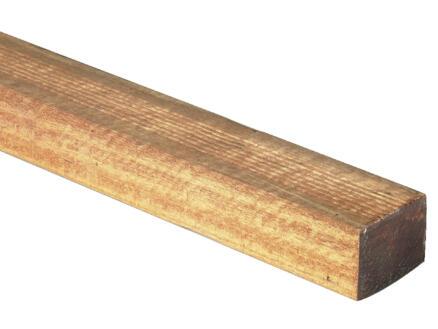 Balk 270x4,5x4,5 cm geschaafd hardhout