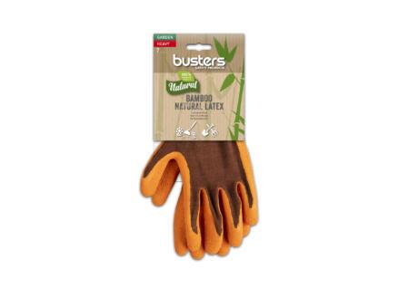 Busters Bamboo Garden Heavy tuinhandschoenen 10 polymeer oranje