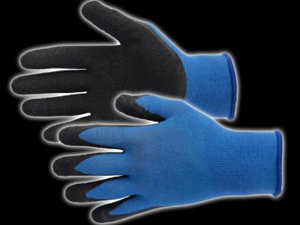 Busters Bamboo Work Heavy gants de travail 10 polymère bleu