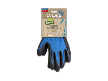 Busters Bamboo Work Heavy gants de travail 11 polymère bleu