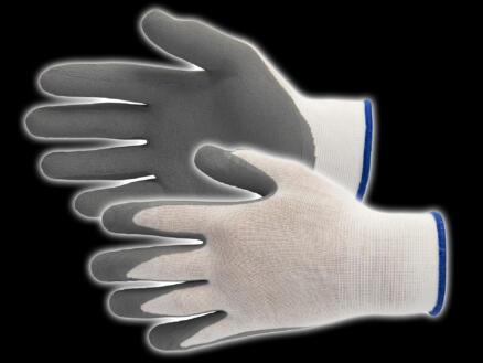 Busters Bamboo Work Light gants de travail 8 polymère blanc