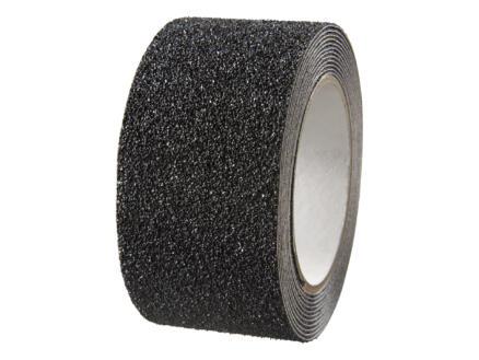 Bande adhésive antidérapante sur rouleau 3m x 50mm noir