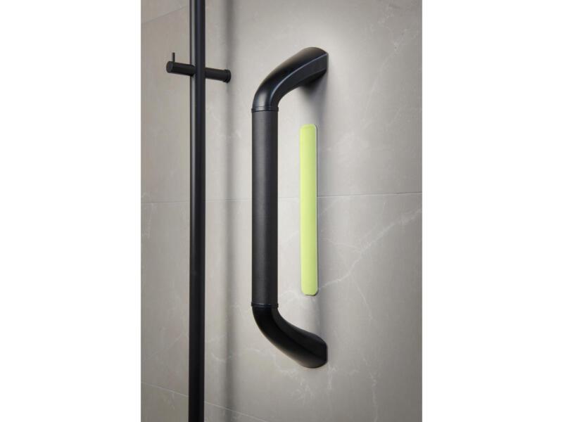Bande adhésive fluorescente pour barre de maintien 21,5cm aluminium