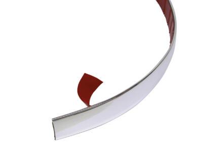 Carpoint Bande autocollante décorative chrome 22mm x 2m