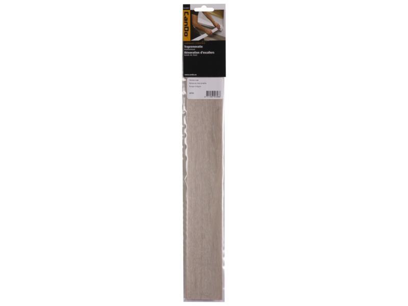 CanDo Bande de chant stratifiée 40x6 cm burgos chêne gris clair 2 pièces