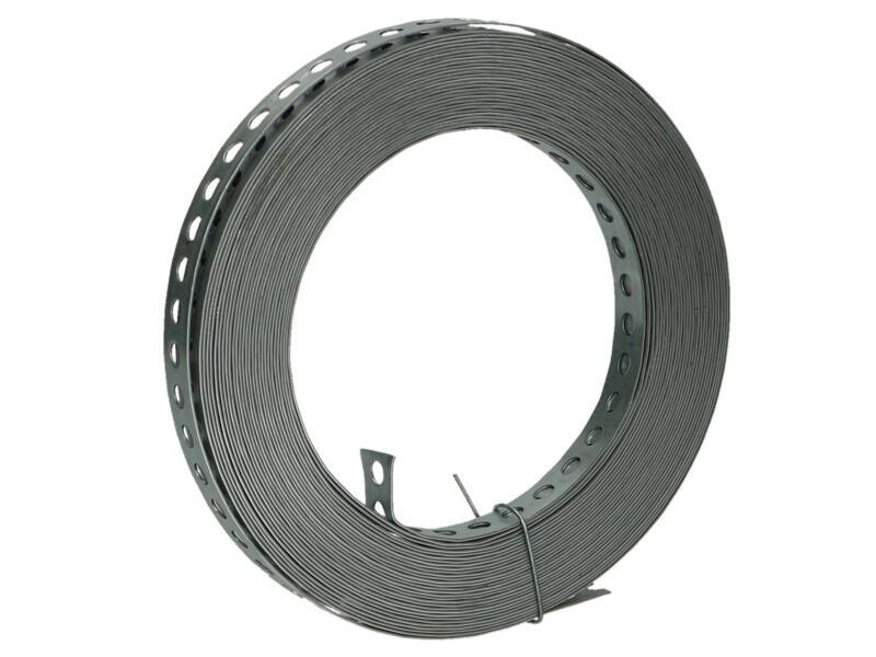 Bande perforée droite 10m 12x0,8 mm
