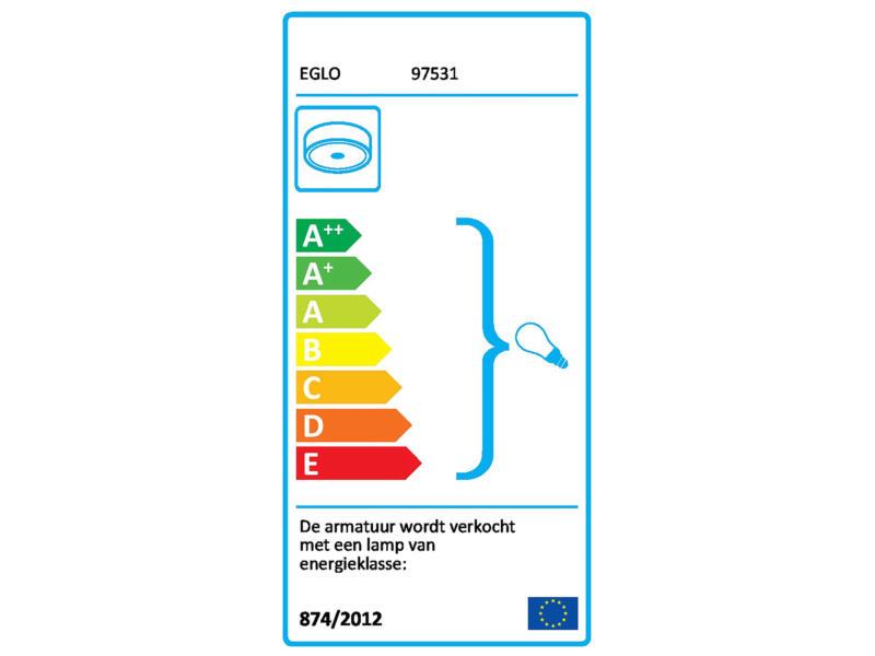 Eglo Bari M LED plafondlamp max. 20W met sensor wit