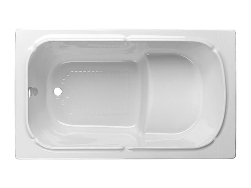 Isifix Bari baignoire sabot 120x70 cm acryl blanc