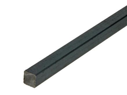 Arcansas Barre carrée 1m 14x14 mm acier