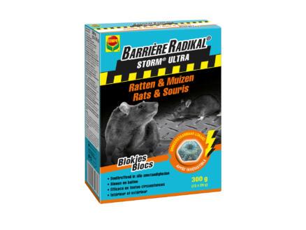 Compo Barrière Radikal Storm Ultra bloklokaas tegen ratten en muizen 300g