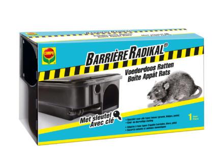Compo Barrière Radikal boîte d'appâtage rats