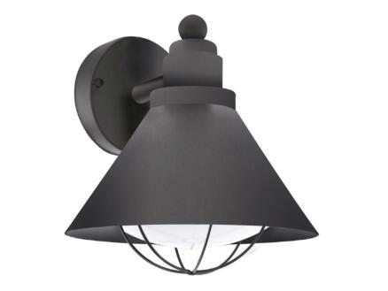 Eglo Barrosela wandlamp E27 max. 40W zwart