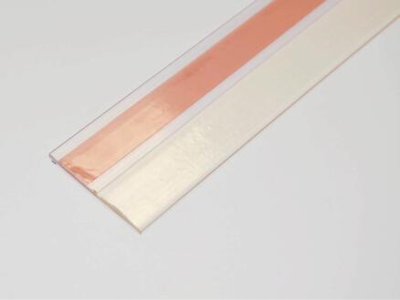 Confortex Bas de porte autoadhésif 1m 6,5cm transparent