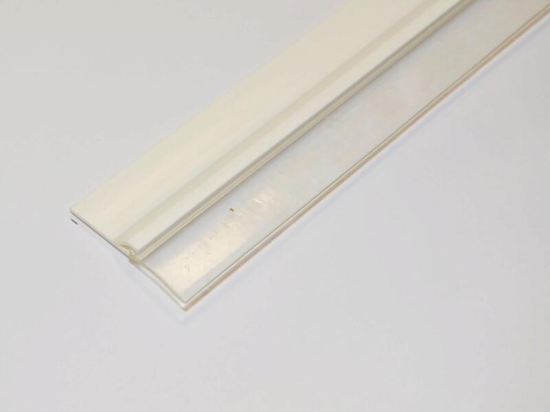 Confortex Bas de porte avec lèvre autoadhésif 1m 6,5cm blanc