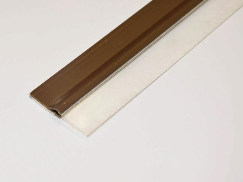 Confortex Bas de porte avec lèvre autoadhésif 1m 6,5cm brun