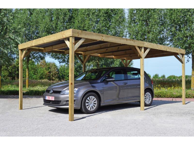 Base carport 300x540 cm bois