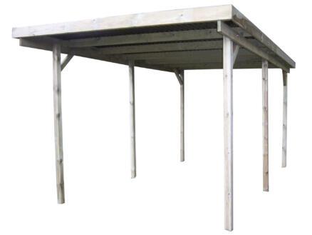 Gardenas Basic carport 300x600 cm bois