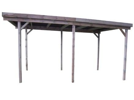 Gardenas Basic carport 300x600 cm hout