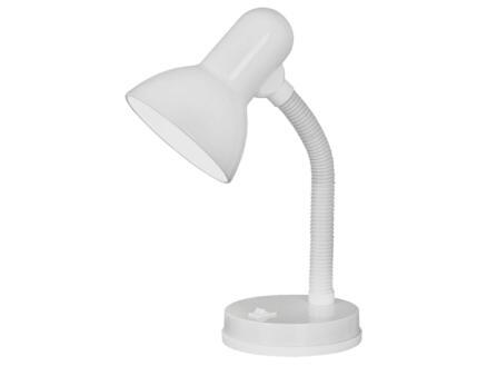 Eglo Basic lampe de bureau E27 40W blanc