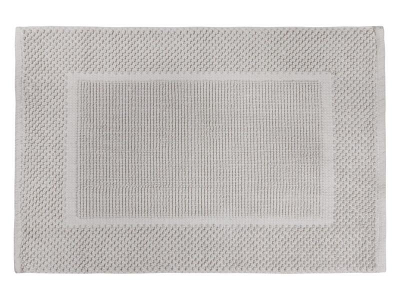 Differnz Basics tapis de bain 80x50 cm gris pierre