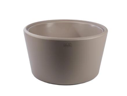 Basso bijzettafel cappuccino