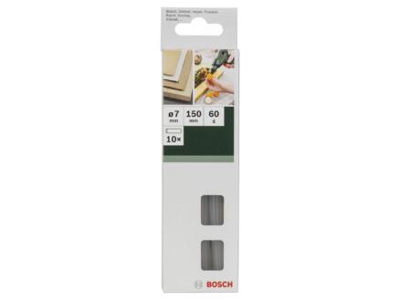 Bosch Bâtons de colle 7mm blanc 10 pièces