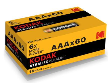 Kodak Batterij Xtralife AAA 60 stuks