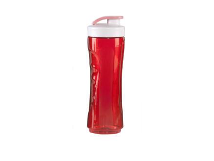 Domo Beker met drinktuit 600ml rood