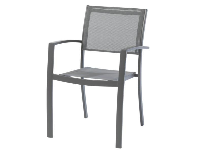 Garden Plus Bel Ombre chaise de jardin gris
