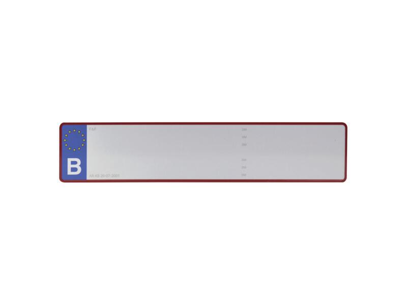 Carpoint Belgische nummerplaat blanco zonder punt